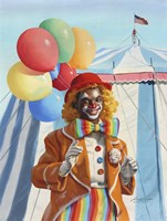 Clown Balloons Fine Art Print