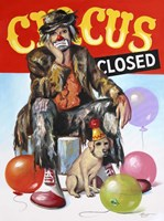 Circus Closed Fine Art Print
