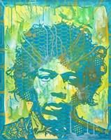 Jimi Hendrix V Fine Art Print