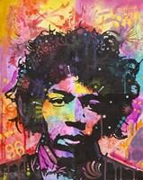 Jimi Hendrix VI Fine Art Print
