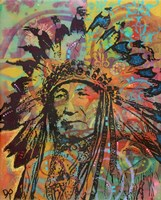 Native American V Fine Art Print