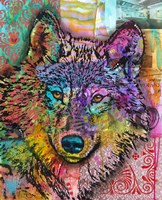 Wolf Lens Eye Fine Art Print