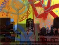 Brooklyn Watertower Fine Art Print