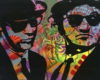 Blues Brothers Fine Art Print