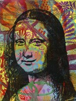Mona's Portrait Fine Art Print