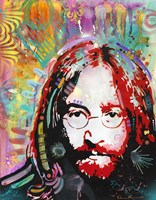 Red Lennon Fine Art Print