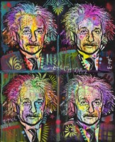 Einstein 4 up Fine Art Print