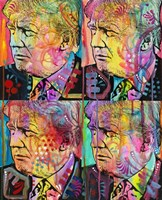 Trump 4 Up Fine Art Print