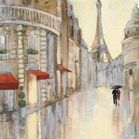 Touring Paris Couple III Fine Art Print