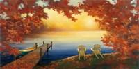 Autumn Glow Crop v2 Fine Art Print
