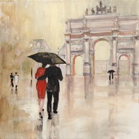 Romantic Paris II Fine Art Print