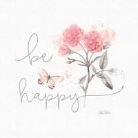 Sunny Day VIII Pink Fine Art Print