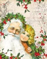 Vintage Holiday III Fine Art Print