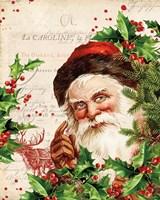 Vintage Holiday IV Fine Art Print