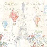 Lighthearted in Paris IV Fine Art Print