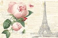 Roses in Paris II Fine Art Print
