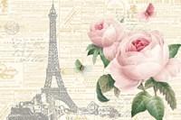 Roses in Paris I Fine Art Print