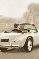 A Ride in Paris II Sepia Fine Art Print