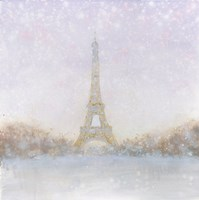 Eiffel with Gold Fine Art Print