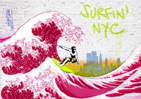 Surfin' NYC Fine Art Print