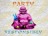 Party Responsibly Fine Art Print