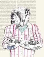 Hipster Socialite Fine Art Print