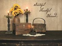 Grateful, Thankful, Blessed Fine Art Print