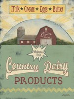 Country Dairy Fine Art Print