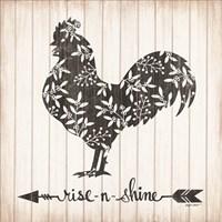 Rise N Shine Rooster Fine Art Print