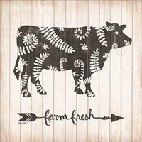 Farm Fresh Cow Fine Art Print
