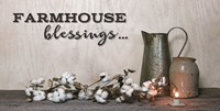 Farmhouse Blessings Fine Art Print