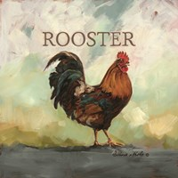 Raleigh the Rooster Fine Art Print