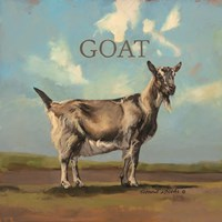 Gracey the Goat Fine Art Print