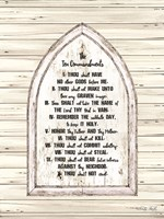 Ten Commandments Fine Art Print