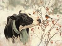 The Winter Robin Fine Art Print