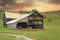 Mail Pouch Barn Fine Art Print