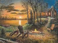 Fireside Fine Art Print