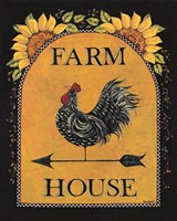 Sunny Farmhouse Fine Art Print