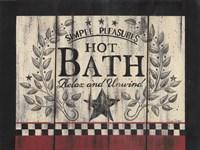 Hot Bath Fine Art Print
