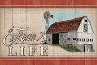 The Farm Life Fine Art Print