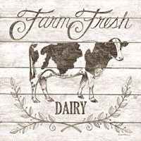 Farm Fresh Dairy Fine Art Print
