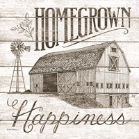 Homegrown Happiness Framed Print