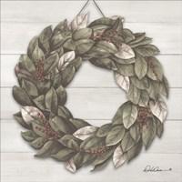 Bay Leaf Wreath Fine Art Print