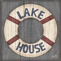 Lake House Fine Art Print