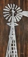 Metal Windmill Fine Art Print