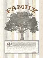 Family Prayer Tree Fine Art Print