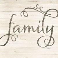 Simple Words - Family Fine Art Print