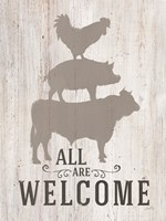 All Our Welcome Fine Art Print