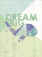 Dream Big Whale Fine Art Print
