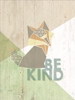 Be Kind Fox Fine Art Print